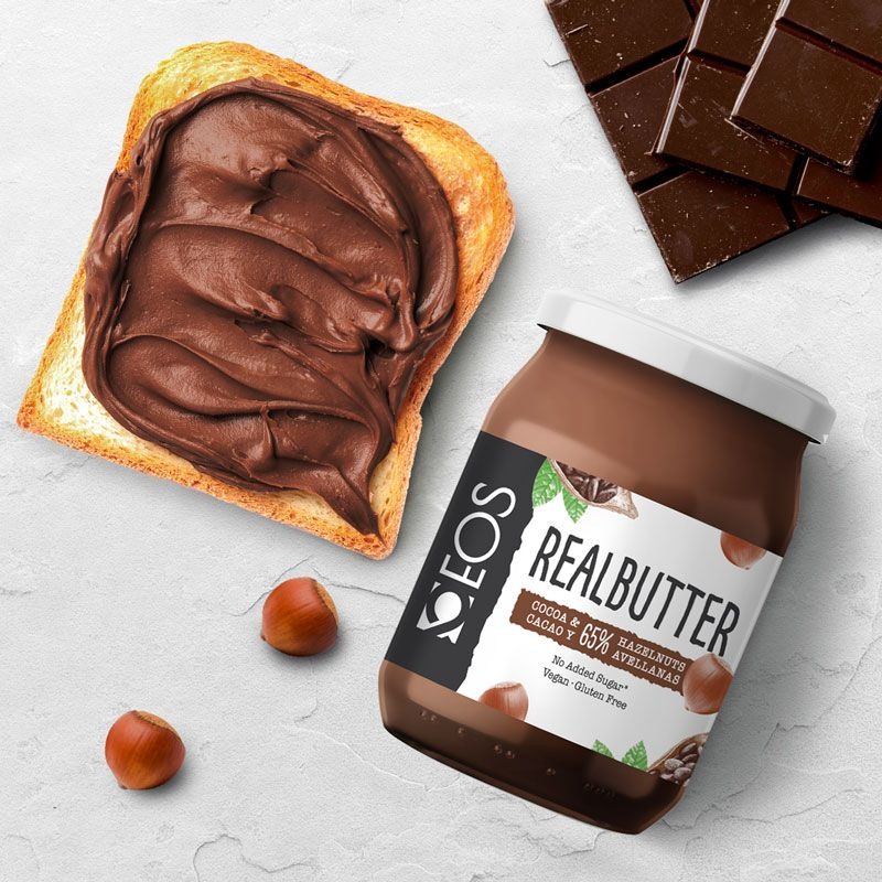 Real Butter Avellana Cacao 500g