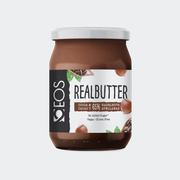 Real Butter Cacao Avellanas 500g