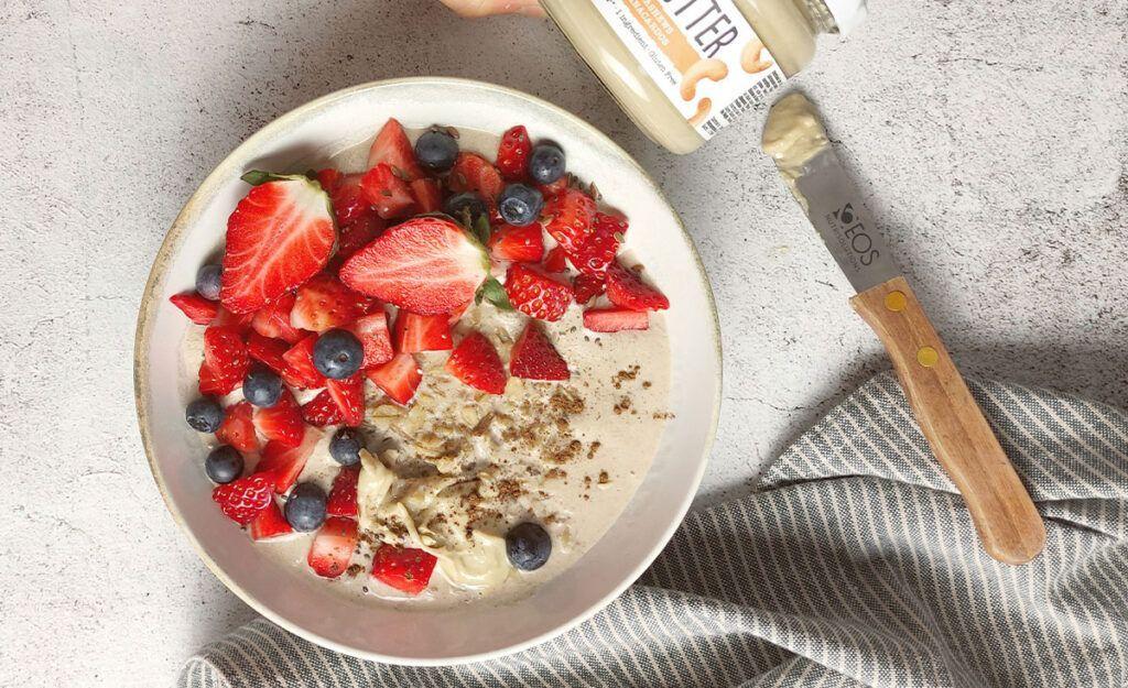 receta porridge de avena EOS