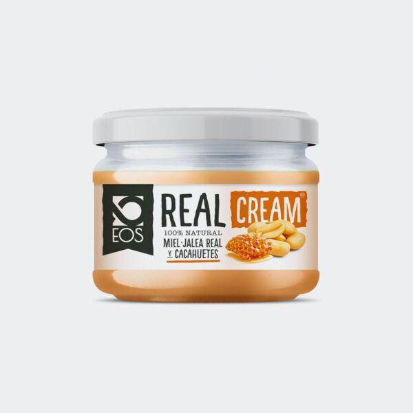 Crema de Cacahuete, miel y jalea real EOS