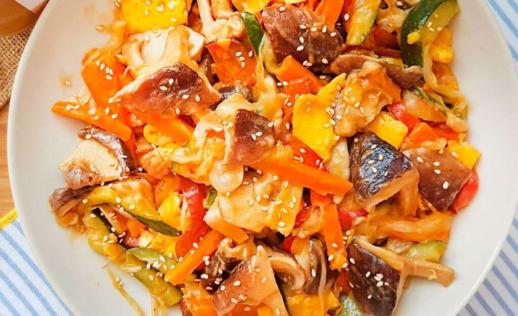 Wok Asiático Vegetariano